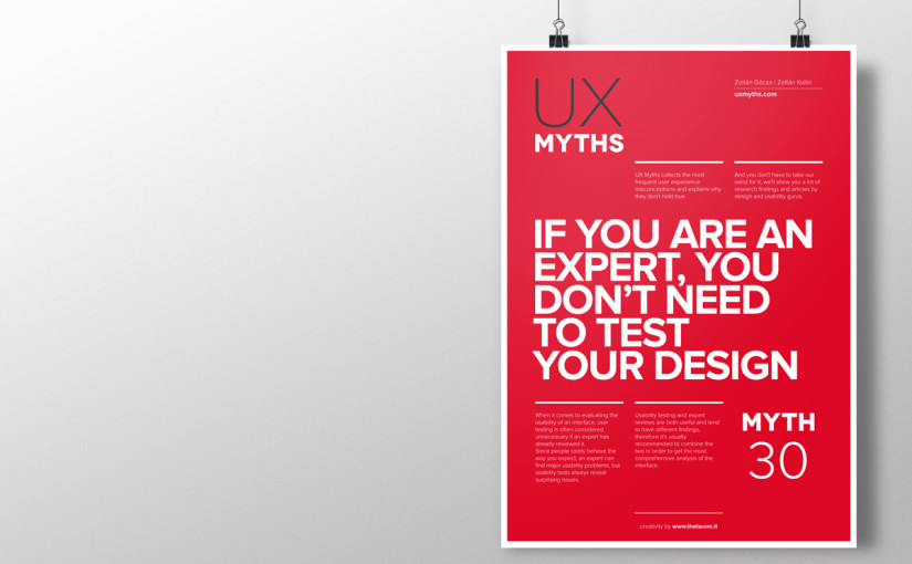 30+ UX Myths that debunk common web design misconceptions
